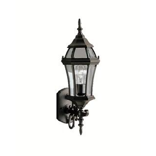 Kichler Lighting Townhouse Collection 1-light Black Outdoor Wall Lantern