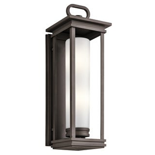 Kichler Lighting South Hope Collection 2-light Rubbed Bronze Outdoor Wall Sconce