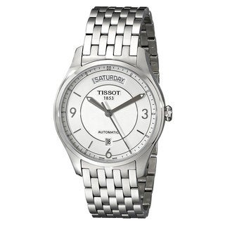 Tissot Men's T0384301103700 Stainless Steel T-One Automatic Watch