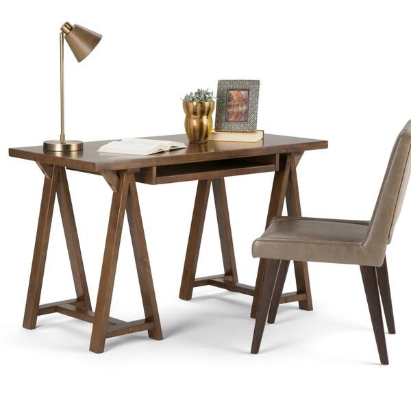 Brilliant Shop Wyndenhall Hawkins Solid Wood Modern Industrial 50 Inch Download Free Architecture Designs Sospemadebymaigaardcom