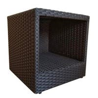 Abba Outdoor Patio Wicker Square Side Table
