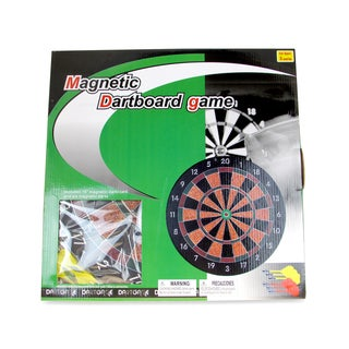 Puzzled Magnetic Dartboard Game With Darts