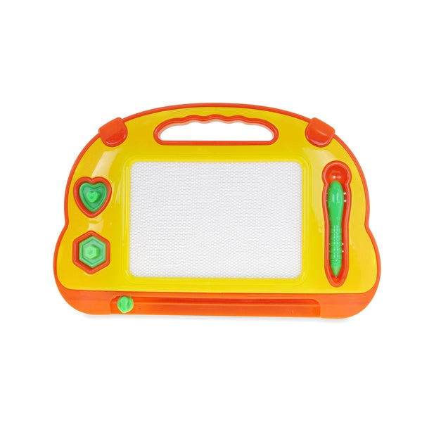 Puzzled Yellow Drawing Pad