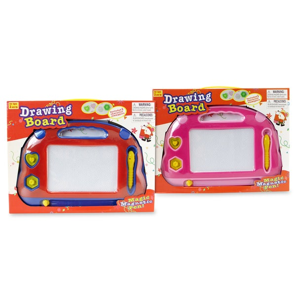 Puzzled Red and Pink Drawing Pad Set