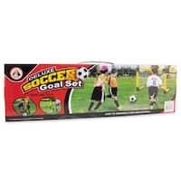 Puzzled Deluxe Plastic Soccer Goal Net