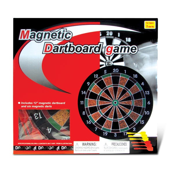 Puzzled Magnetic Dart Board Game Darts