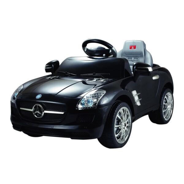 Best Ride on Cars Black 6V Mercedes SLS Toy Car