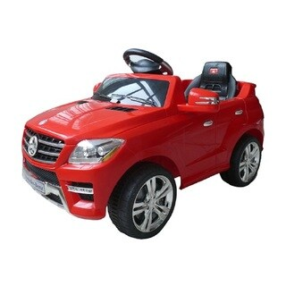 Best Ride On Cars Red 6V Mercedes ML-350 Toy Car