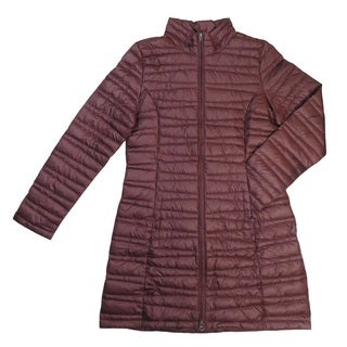 Patagonia Women's Fiona Burgundy Down Large Packable Coat