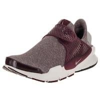 Nike Women's Sock Dart SE Night Maroon/Iron Ore Laceless Running Shoe
