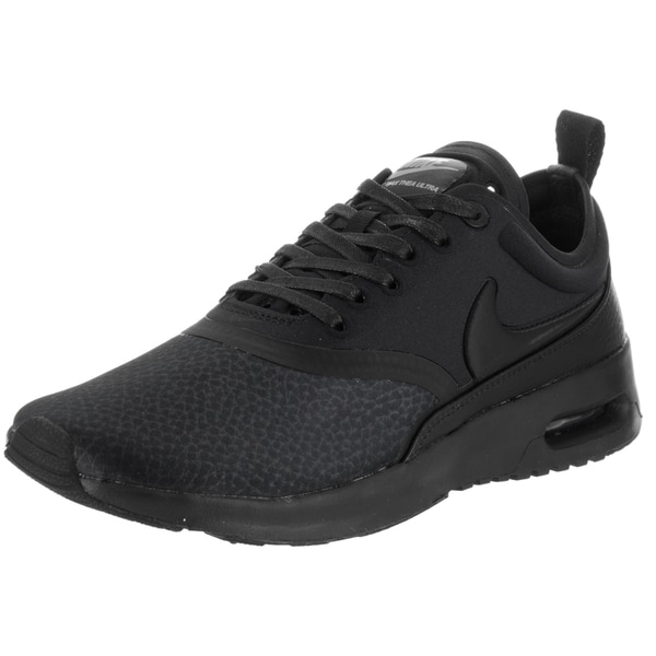 official photos 19bb6 59086 Nike Women  x27 s Air Max Thea Ultra Premium Black and Cool Grey Faux
