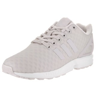 Adidas Women's ZX Flux W Originals White Synthetic Leather Running Shoes