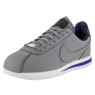 Nike Men's Cortez Basic Prem Grey Nubuck Casual Shoe