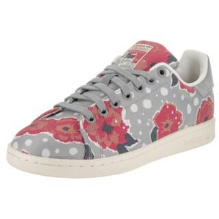 Adidas Women's Stan Smith W Originals Grey Canvas Casual Shoe