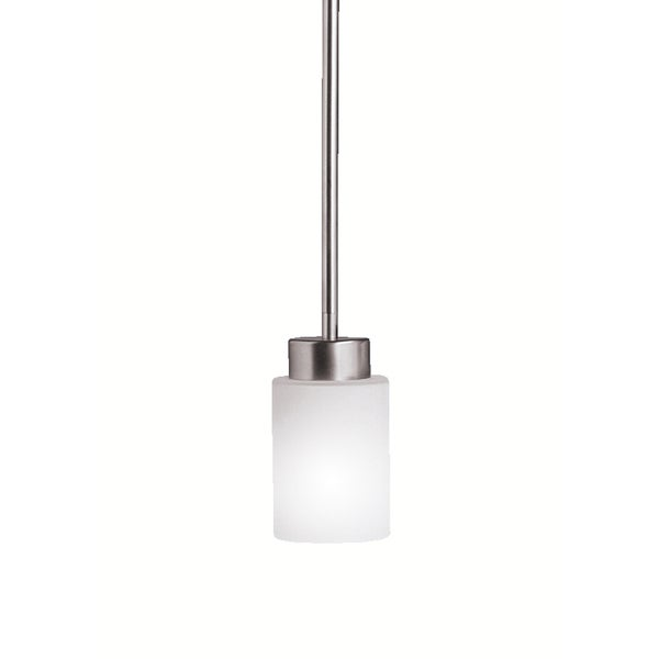 Kichler Lighting Modena Collection 1-light Brushed Nickel Mini Pendant