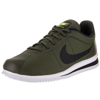 Nike Men's Cortez Ultra Green Textile Casual Shoes