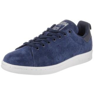 Adidas Men's Stan Smith Originals Blue Suede Casual Shoe