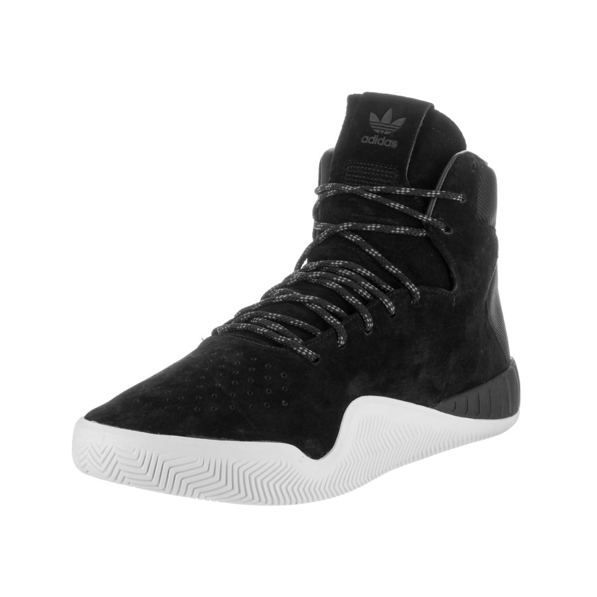Adidas Men's Tubular Instinct Black Suede Casual Shoes (8)