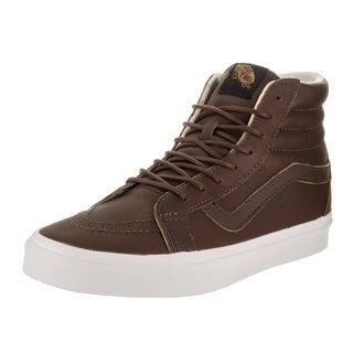 Vans Unisex Sk8-Hi Reissue Leather Skate Shoes