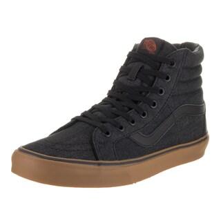 Vans Unisex Sk8-Hi Reissue Black Denim Skate Shoe (3 options available)