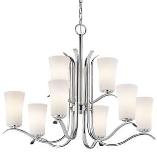 Kichler Lighting Armida Collection 9-light Chrome Chandelier