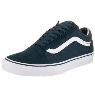 Vans Unisex Old Skool Blue Suede/Canvas Skate Shoes
