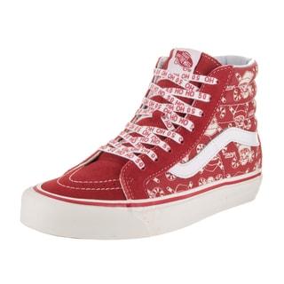 Vans Unisex Sk8-Hi 38 50th Reissue Red Canvas Skate Shoe