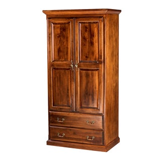 Forest Designs Traditional Wood Vintage Wardrobe