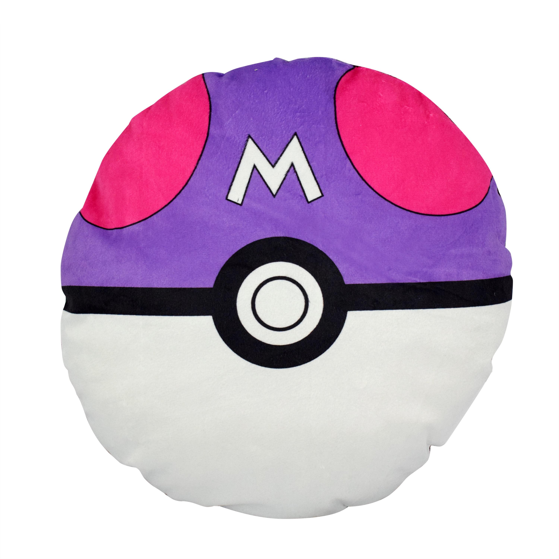 Pokemon Polyester Masterball Pokeball Pillow (Pokemon Mas...