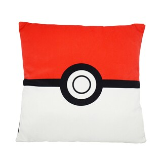 Pokemon Polyster Square Pokeball Pillow