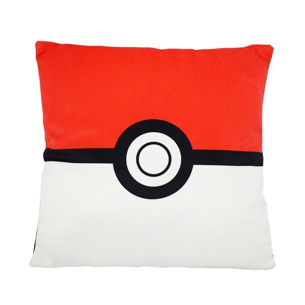 Pokemon Polyster Square Pokeball Pillow