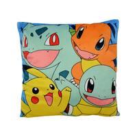 Pokemon Hero Charmander, Pikachu, Squirtle, Ivysaur Polyester Plush Pillow