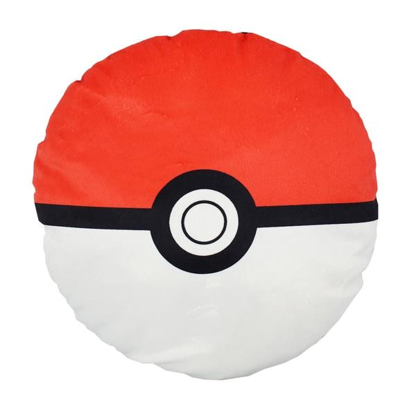 Pokemon Pokeball Red Pillow