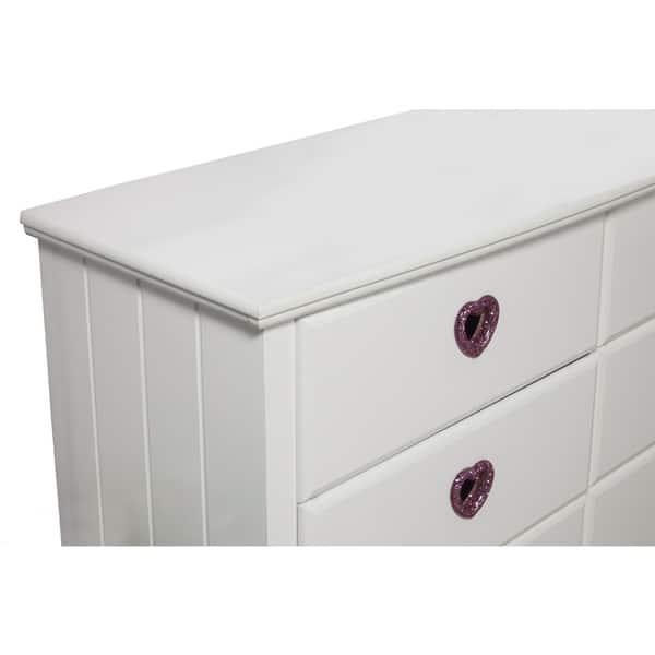 Shop Sandberg Furniture Sparkling Hearts Bedroom Set - Free ...