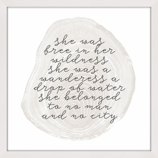 Link to Marmont Hill - Handmade Wanderess Framed Print Similar Items in Art Prints