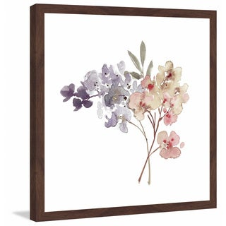 Marmont Hill - 'Watercolor Bouquet 2' by Shayna Pitch Framed Painting Print