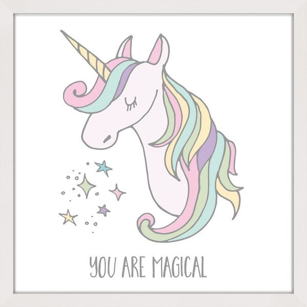 Marmont Hill - 'You are Magical' by Shayna Pitch Framed Painting Print - Multi