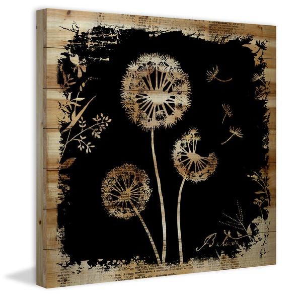 Marmont Hill - Handmade Vicki Butler Believe Dandies Painting Print on Natural Pine Wood