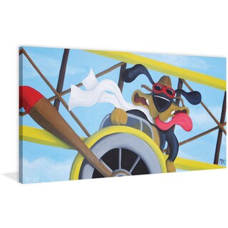 Marmont Hill - 'Fly Boy' by Mike Taylor Painting Print on Wrapped Canvas