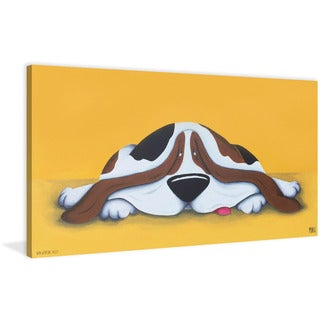 Marmont Hill - 'Non-working Breed' by Mike Taylor Painting Print on Wrapped Canvas