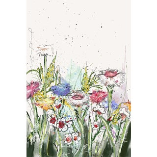 Marmont Hill - 'Fleurs Fraiches' by Marie-Eve Pharand Painting Print on Wrapped Canvas