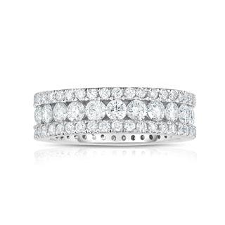 Noray Designs 14k White Gold 2 5/8ct TDW White Diamond Ring