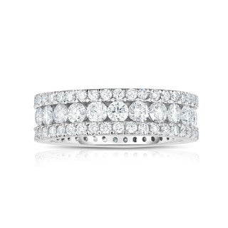 Noray Designs 14k White Gold 2 5/8ct TDW White Diamond Ring