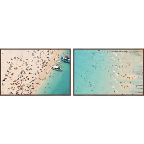 Marmont Hill - Handmade Beaches Diptych
