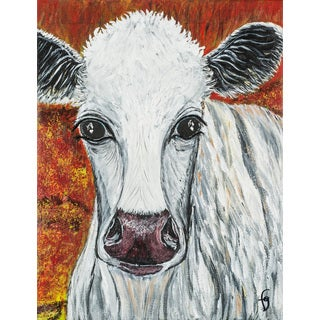 Marmont Hill - 'Miranda Whitecoo' by France Gilbert Painting Print on Wrapped Canvas