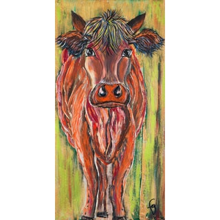 Marmont Hill - 'Tim Randall the Third' by France Gilbert Painting Print on Wrapped Canvas