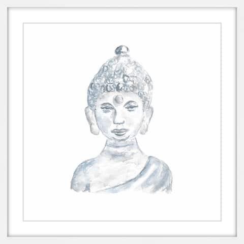 Marmont Hill - Handmade Buddha Statue Framed Print
