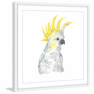 Marmont Hill - 'Cockatoo' by Thimble Sparrow Framed Painting Print
