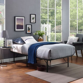Brown Horizon Stainless Steel Bed Frame