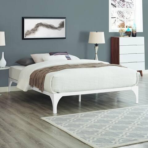 White Ollie Bed Frame
